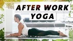 Yoga Ganzkörper Flow   Verspannungen im oberen Rücken lösen   Entspannt in den Feierabend