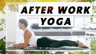 Yoga Ganzkörper Flow | Verspannungen im oberen Rücken lösen | Entspannt in den Feierabend