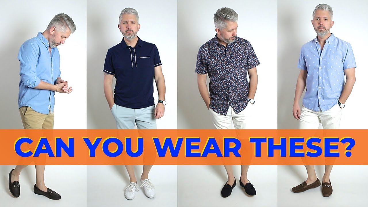 summer mens shoes with shorts