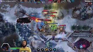spreadfire1 Azmodan & flo0 Hanzo ultimate combo boss steal