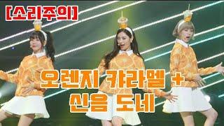 [도네용] [소리주의!!!] 오렌지 캬라멜 까탈레나 + 신음소리