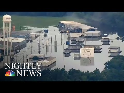 More Explosions Possible At Flooded Plant | NBC Nightly News