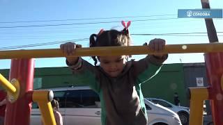 Schiaretti inauguró un playón barrial en barrio Granadero Pringles