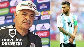 """Ferretti: """"Hablamos de México, ¿por qué Messi no viene a la selección de Argentina?"""