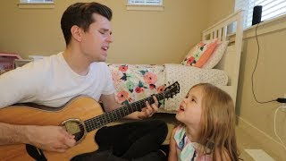 MEANT TO BE - BEBE REXHA + FLORIDA GEORGIA LINE COVER - 5-YEAR-OLD CLAIRE AND DAD Video