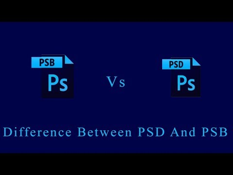 difference-between-psd-and-psb- hindi -the-learn- -#psb-#psd-#photoshop-#thelearn