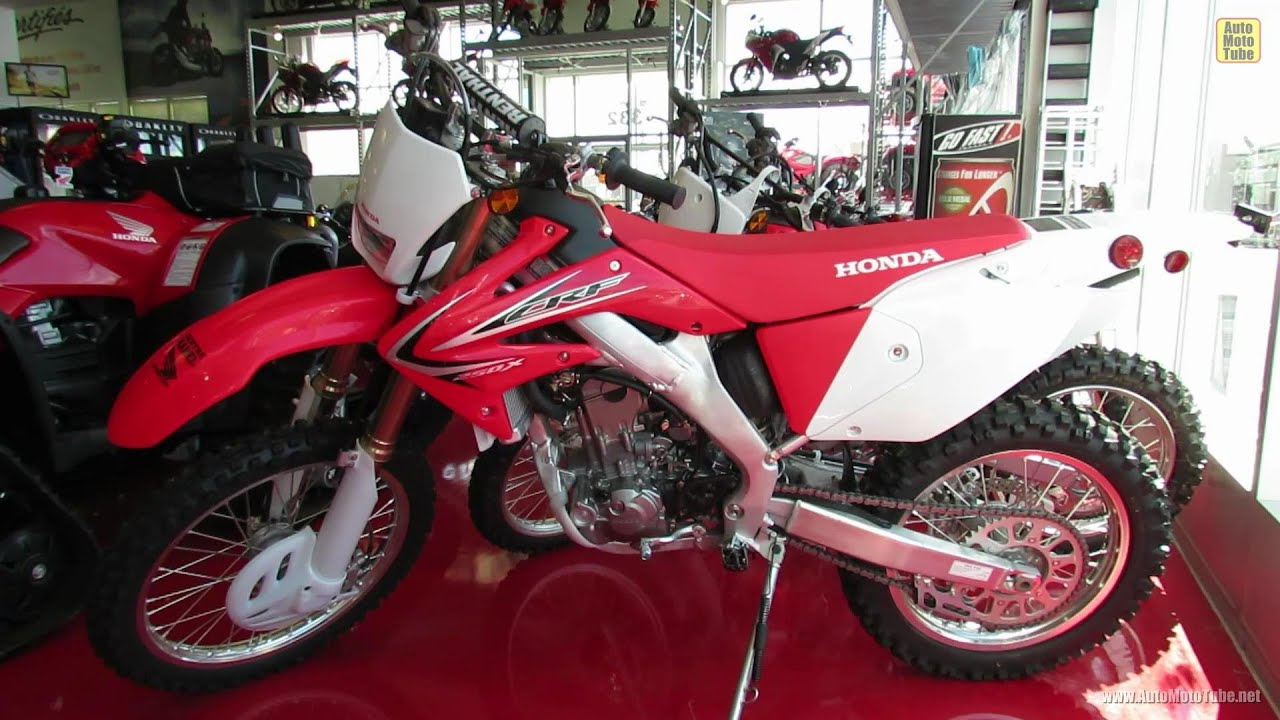 2012 honda crf250x off road motorcycle   centre hamel honda st eustache quebec canada   youtube