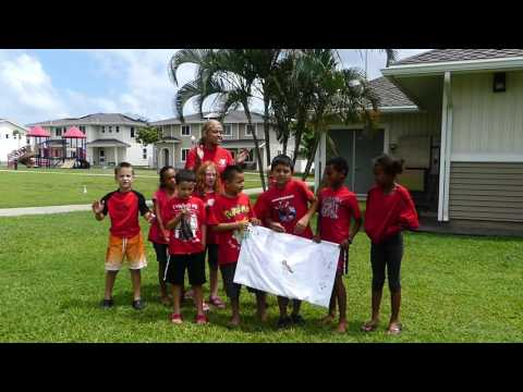 Red Robin Unit Cadence during Camp Hero  ASYMCA of Honolulu