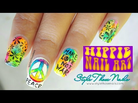 Hippie nailart tutorial hippienailartcollab youtube hippie nailart tutorial hippienailartcollab prinsesfo Choice Image