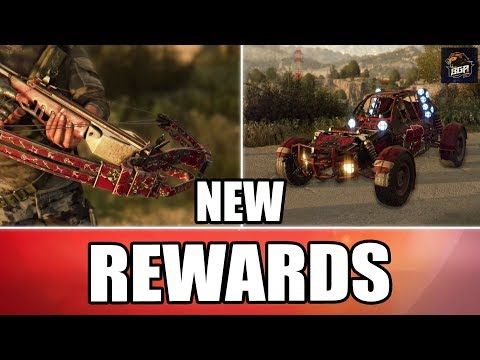 Dying Light - Undying Love Community Bounty Rewards | Valentines Crossbow And Paint Job | 2018