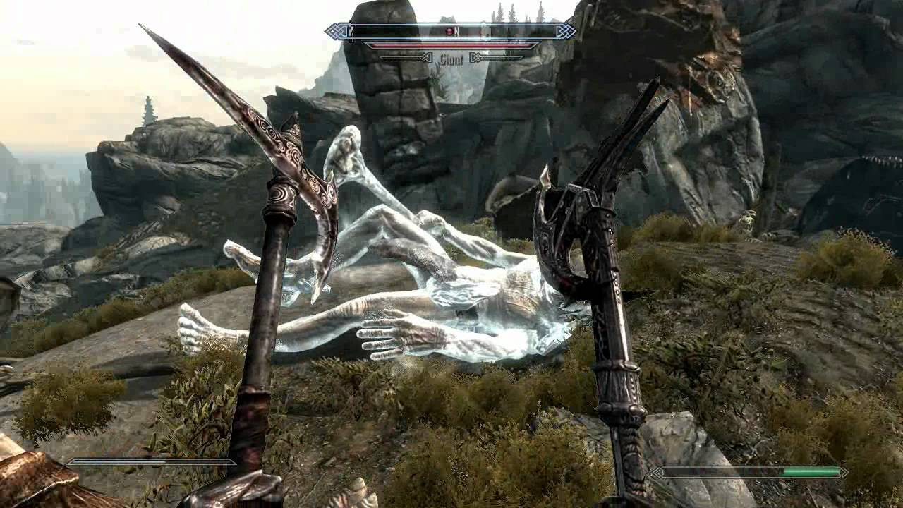 ☆TES 5 - Skyrim - No Falling Damage Ethereal & Ice Form Shouts ...