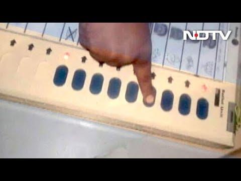 Uttar Pradesh civic polls: EVMs register vote only for BJP, says voters
