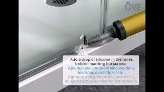 OVE OWS-314/S/P & Sharon & Dalia & Rome Shower installation