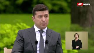 Зеленский не считает, что 5 000-6 000 грн зарплаты - это бедность / APnews