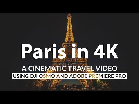 Paris - DJI OSMO - Premiere Pro - After Effects - 4K