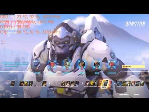 Play Overwatch on the Nvidia GT 1030 a $70 graphics card: PC 1080p, intel i5 2400 budget dell