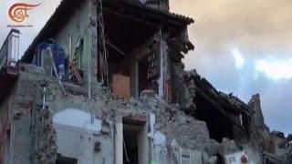 زلزال عنيف يضرب وسط ايطاليا