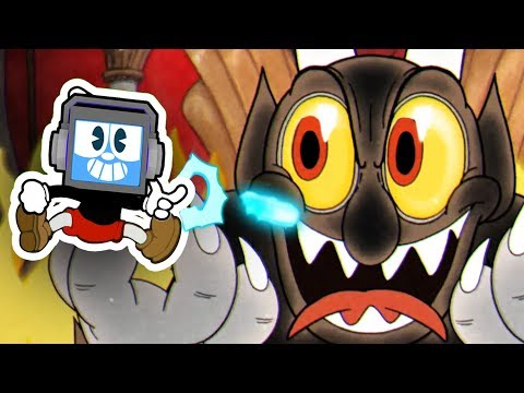 CUPHEAD vs THE DEVIL - FINAL BOSS & ENDING! Musical Animated Song Robot Fandroid GAMEPLAY COMMENTARY