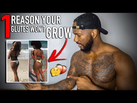 THIS IS WHY YOUR GLUTES ARE NOT GROWING.. (YES YOU!) 🤔🍑