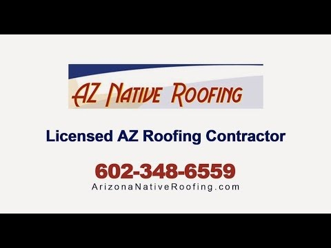 A Few Reasons To Work With The PHX Roofers At Arizona Native Roofing:
