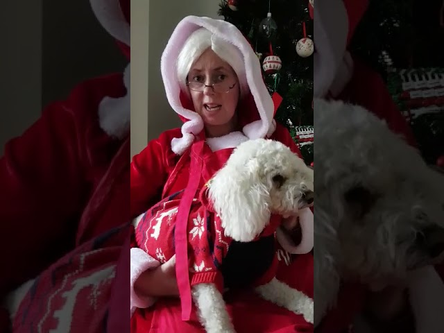 Mrs Claus has a special message for St Angela's Girls