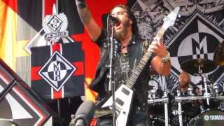 Machine Head - Beautiful Mourning Live at Rockstar Energy Drink Mayhem Festival 2013