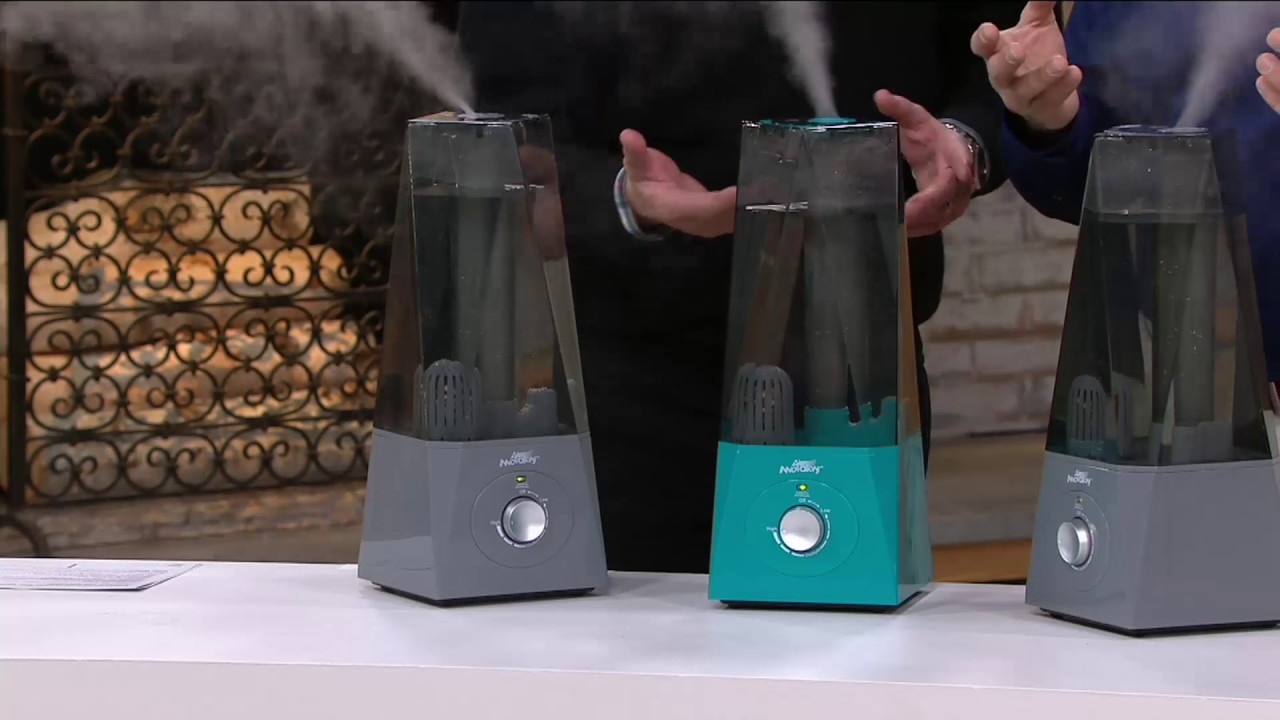 Air Innovations Clean Mist Ultrasonic Humidifier With Extra Filter On Qvc Youtube