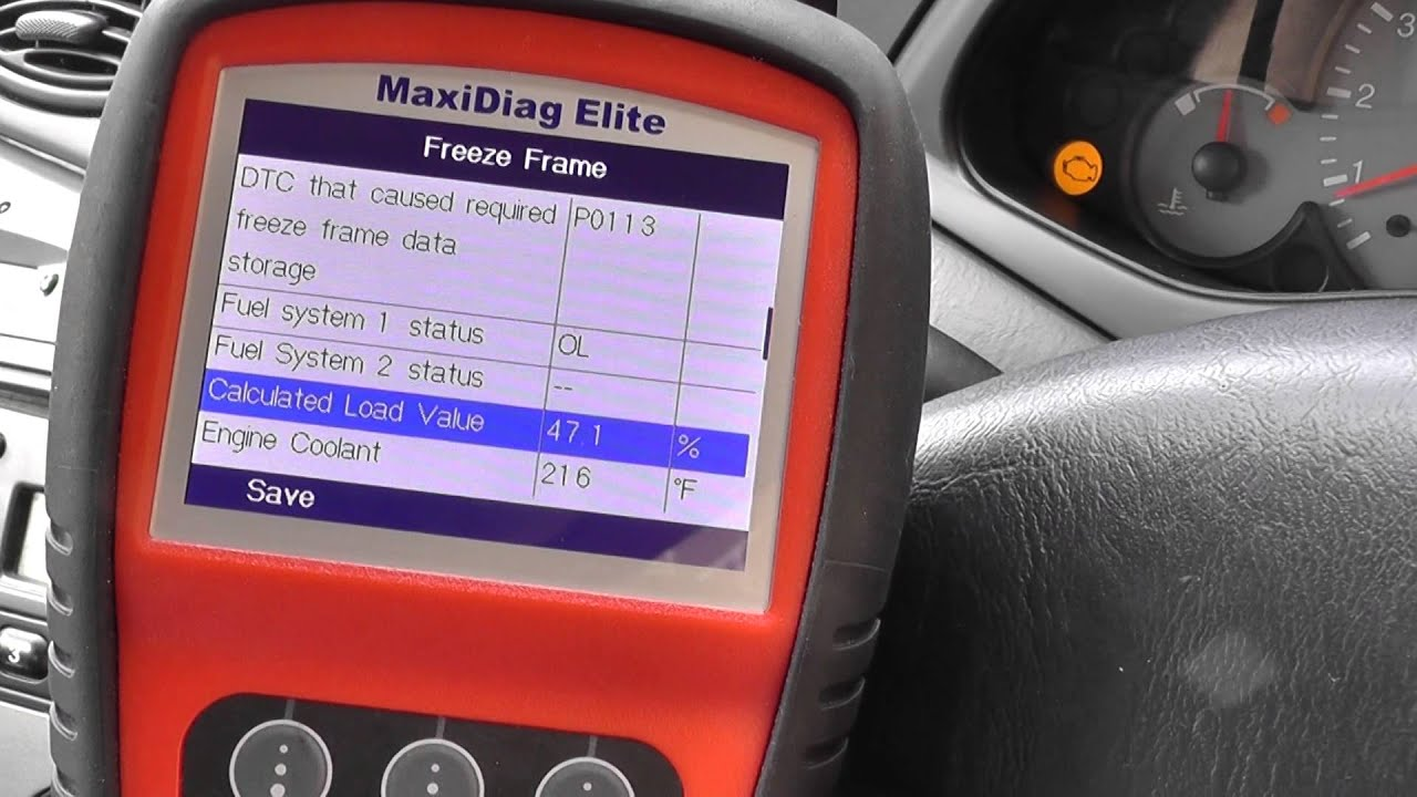 Ford Diagnostic Freeze Frame Data - YouTube