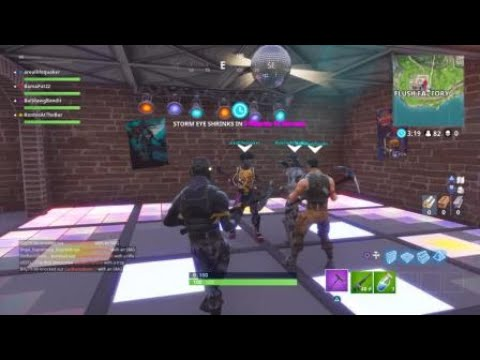 EPIC Fortnite Boogie Bomb Dance Party! HILARIOUS