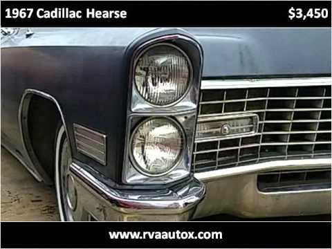 1967 Cadillac Hearse Used Cars Richmond VA