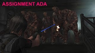 """Resident Evil 4 - Assignment Ada (Welcome To Hell - """"Dark Edition"""") Mode HQ"""