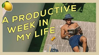 A Productive Week in My Life | Quarantine Edition