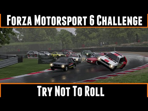 Forza Motorsport 6 Challenge Try Not To Roll