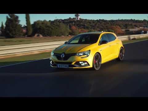 Essai nouvelle Renault MEGANE R S chassis Cup et boite de vitesses manuelle