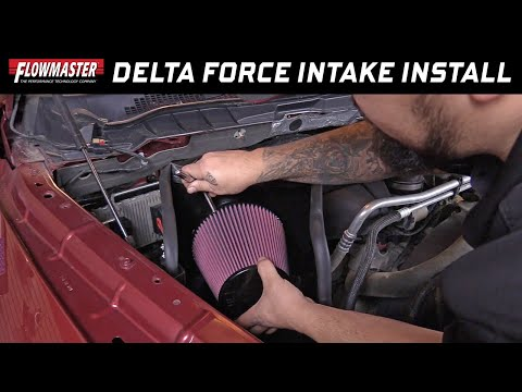 Install: Flowmaster Delta Force Cold Air Intake for 09-18 Ram Trucks w/5.7L Hemi - Part # 615111