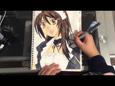 Speed Drawing - Ayuzawa Misaki鮎沢 美咲 (Kaichou Wa Maid Sama会長はメイド様!) || Marian Aducayen