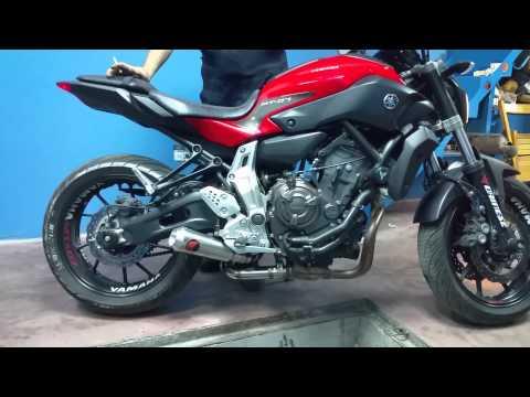 Yamaha mt 07 by ferik egzoz topkapi