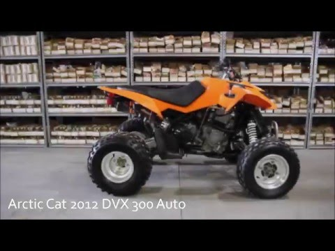 2012 arctic cat dvx 300 auto used parts youtube. Black Bedroom Furniture Sets. Home Design Ideas