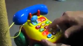 Toy Phone Likes to Swear