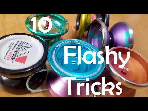 10 Flashy & Easy YoYo Tricks All YoYo Players Should Learn.