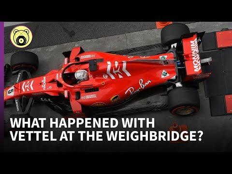 Vettel's Brazil Weighbridge Incident - Chain Bear Explains
