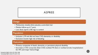 2019 Guideline Update: Aspirin for Primary Prevention of Cardiovascular Disease