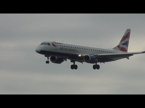 Windy Afternoon Spotting at London City Airport 13/05/16 - Part 1