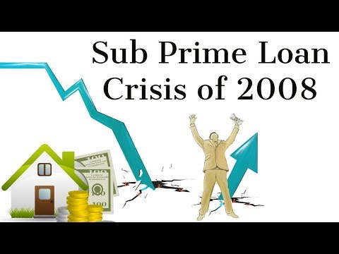 Subprime Loan Crisis of 2008, Global financial crisis & its impact on India, Current Affairs 2018