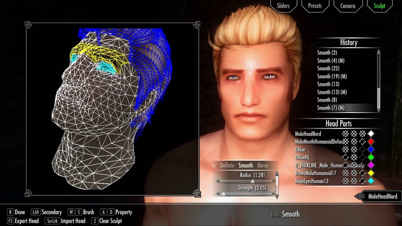 Skyrim Hd Male Character Creation With Sam Bodymod And Racemenu Youtube In this video i'm gonna show you how to manually install the racemenu mod for skyrimcheck out my music. skyrim hd male character creation with sam bodymod and racemenu