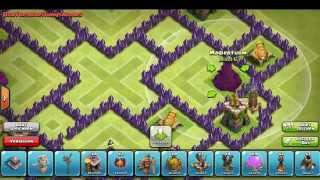 Clash of Clans - Town Hall Level 10 Farming base - Speed build HD