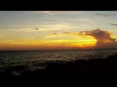 Cool Time Lapse Sunset Cayman Island 9/23/13