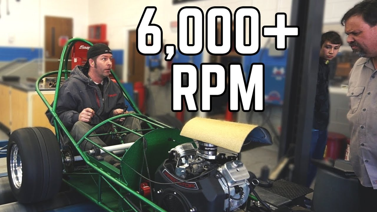 670cc Dragster Dyno Day Youtube