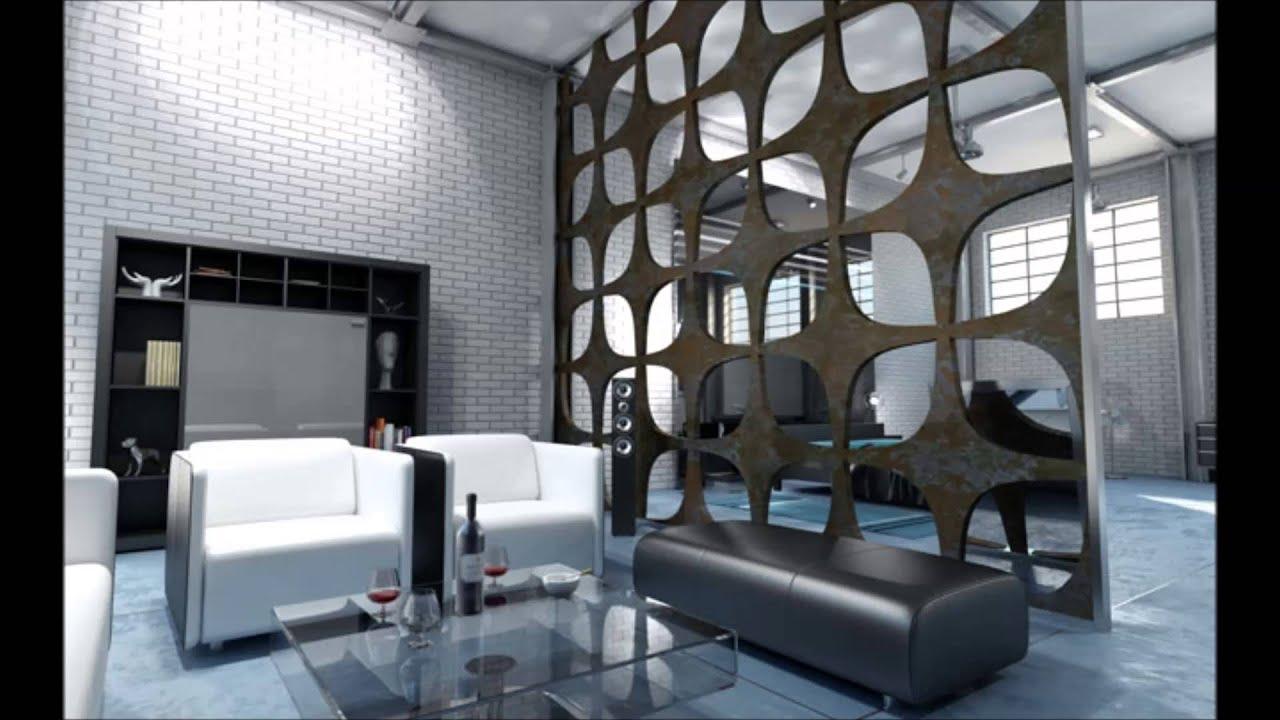 декоративная металлическая сетка в интерьере