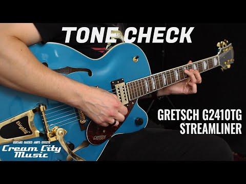 TONE CHECK: Gretsch G2410TG Streamliner Hollow Body Demo | No Talking
